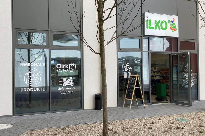 Nahversorger ILKO in der Biotope City
