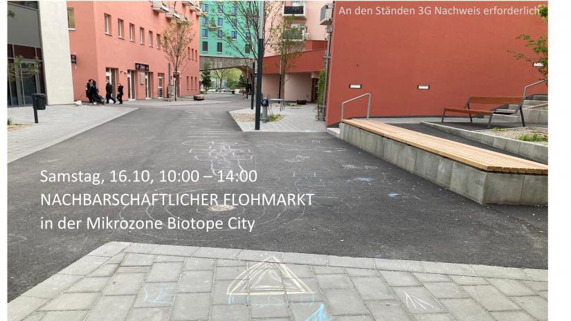 Einladung zum nachbarschaftlichen Flohmarkt