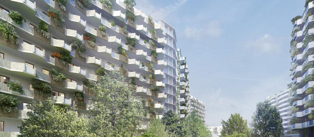 Biotope City Wienerberg / Bauplatz 3 / (C) Schreiner Kastler