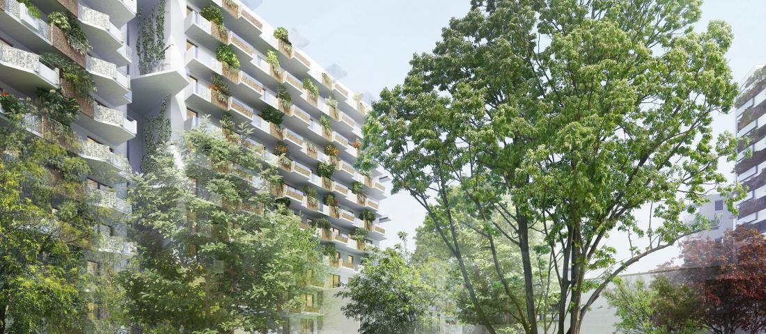 Biotope City Wienerberg / Bauplatz 4 / (C) Schreiner Kastler