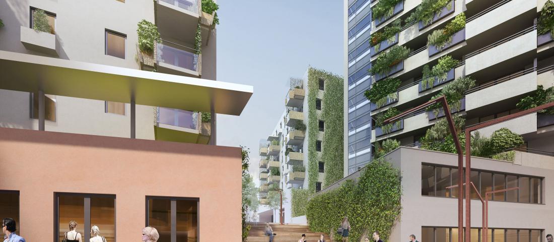 Biotope City Wienerberg / Bauplatz 7 / (C) Schreiner Kastler