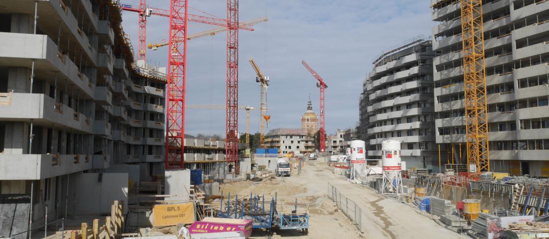 Baufortschritt Biotope City Wienerberg