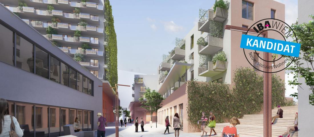 Die Biotope City Wienerberg ist IBA Kandidat.